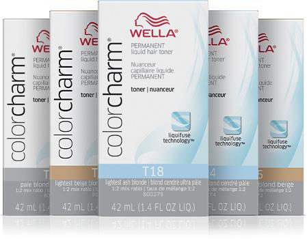 colorcharm permanent liquid hair toner