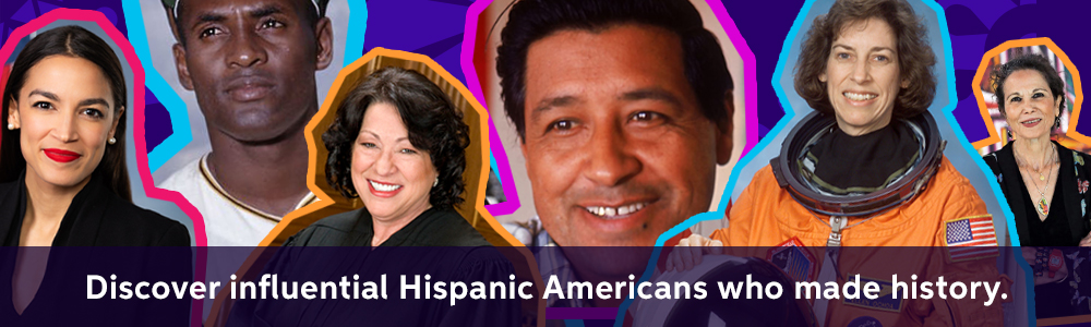 Discover influential Hispanic Americans who made history.
