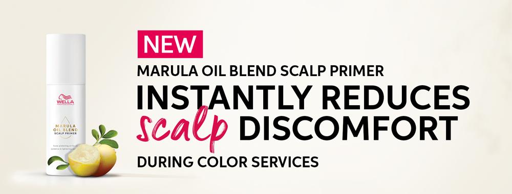 Marula Oil Blend Scalp Primer - Instantly Reduces Scalp Discomfort
