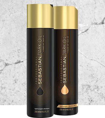 Sebastian Professional Dark Oil Shampoo and Conditioner