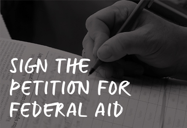 sign the petition for federal aid