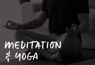 meditating & yoga